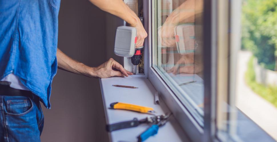 Réparer les vitres